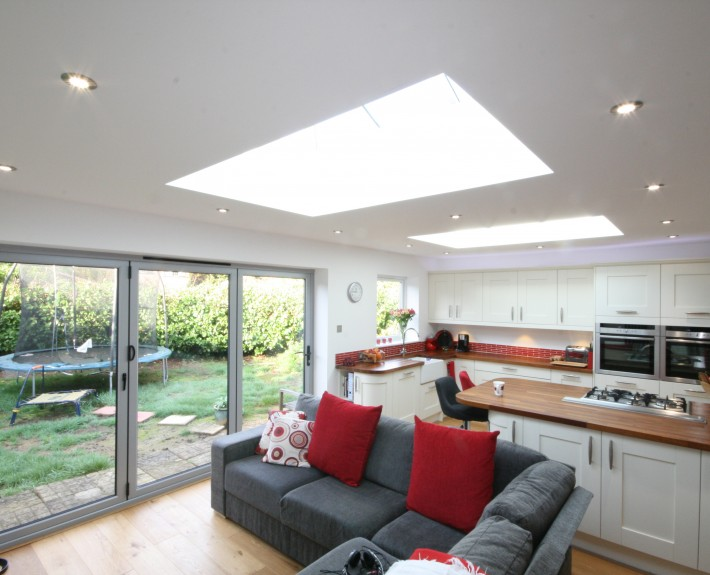 Eclipse property solutions open plan extension utility for Small room extension