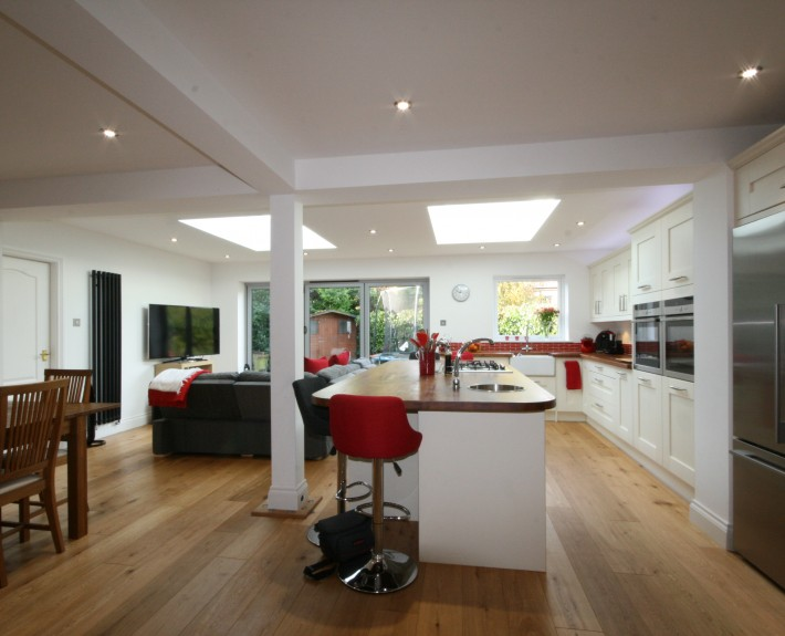 Eclipse property solutions open plan extension utility for Small dining area solutions